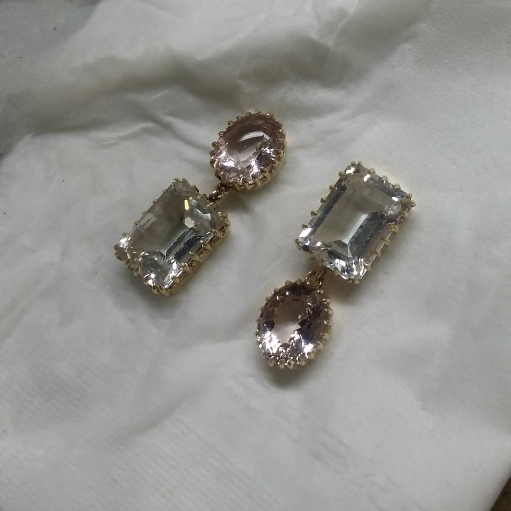Jewelry in softer tones